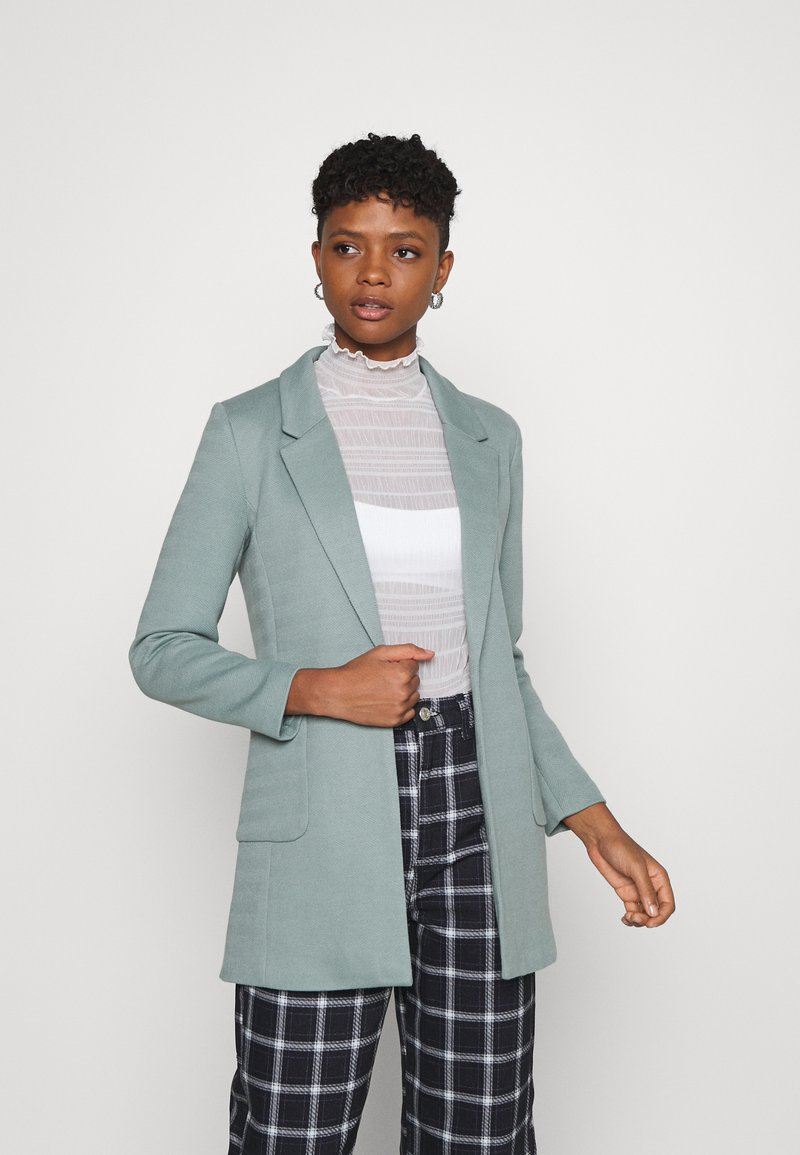 ONLY - ONLBAKER LINEA COATIGAN - Blazer - chinois green