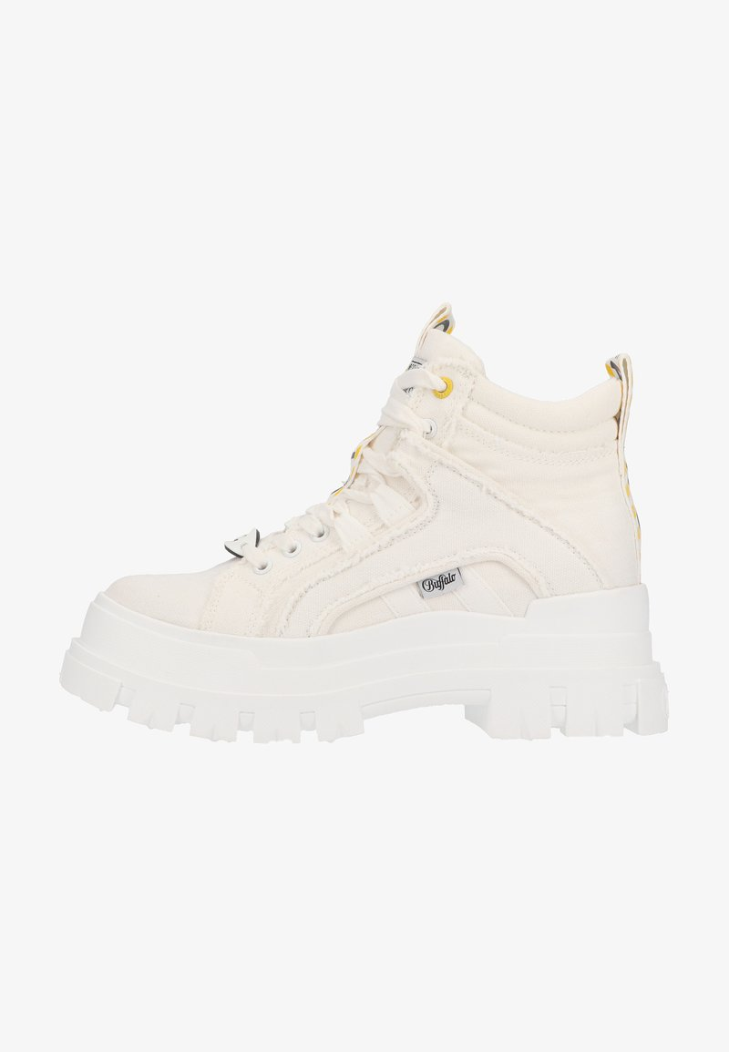 Buffalo - Lace-up ankle boots - white