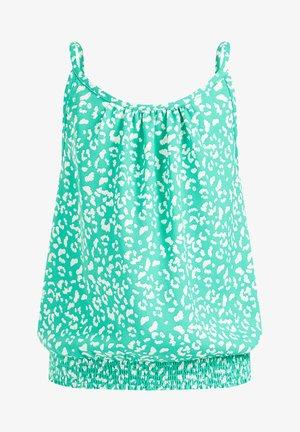 Top - bright green