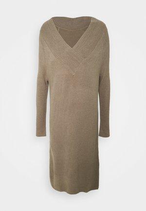 VIMADELIA VNECK DRESS - Jumper dress - fungi