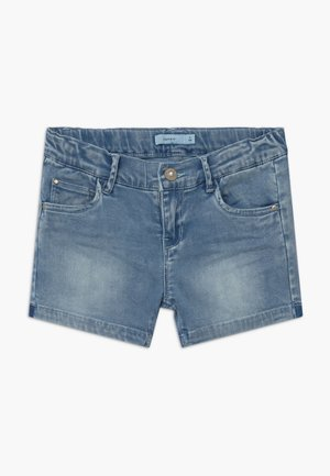 NKFSALLI - Denim shorts - medium blue denim