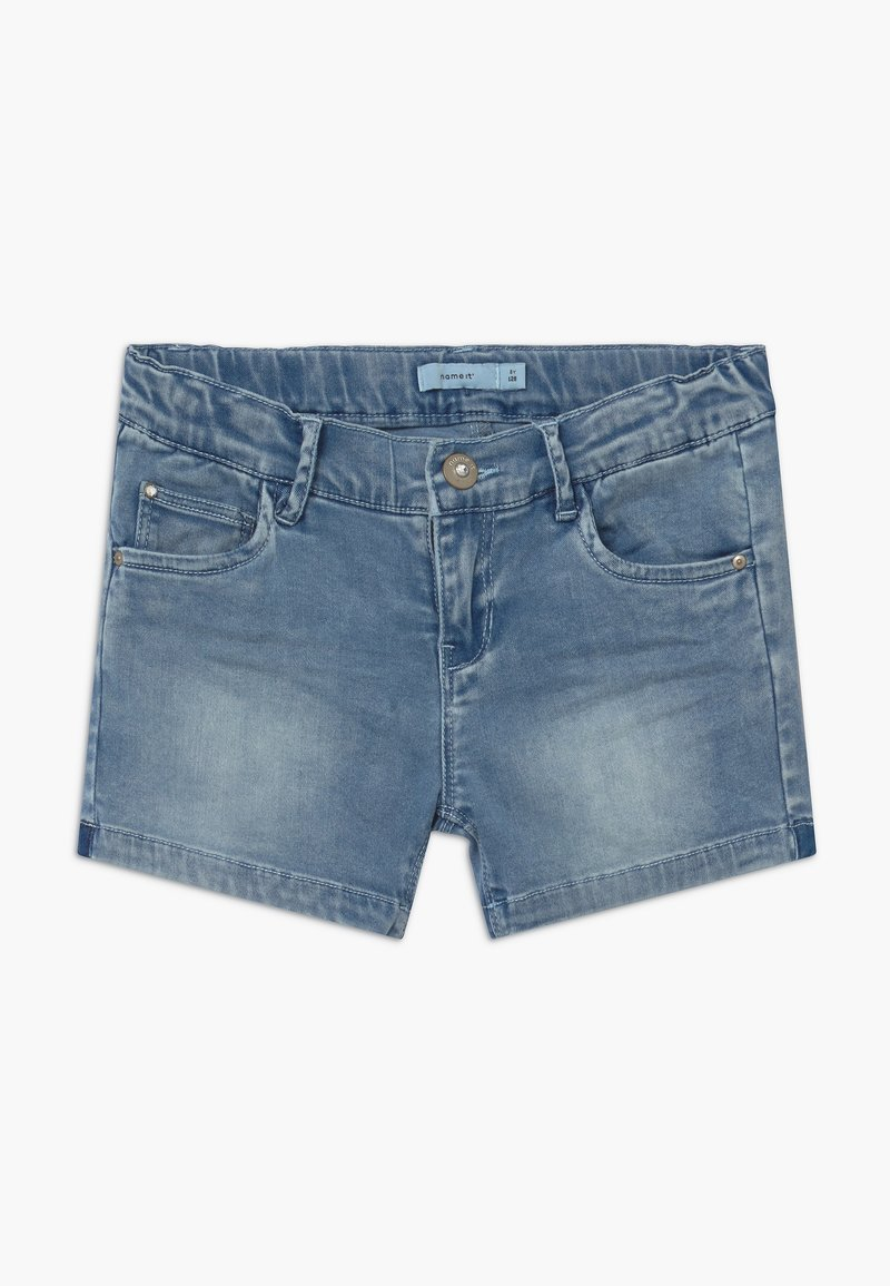 Name it - NKFSALLI - Denim shorts - medium blue denim