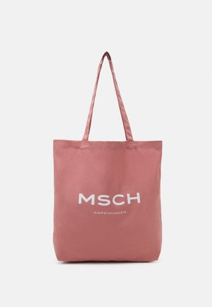 ORGANIC LOGO SHOPPER - Tote bag - ash rose/white