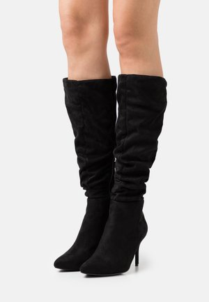 WIDE FIT JULIANA - Boots - black