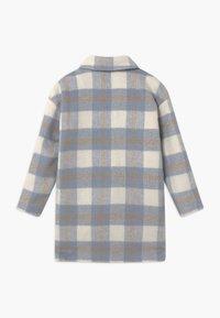 Grunt - BOUCLE - Zimní kabát - blue check - 1