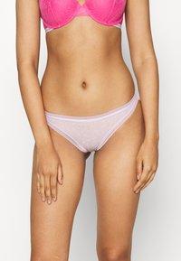 Calvin Klein Underwear - BOTTOMS UP 3 PACK - Briefs - holiday/red gala/new navy - 1