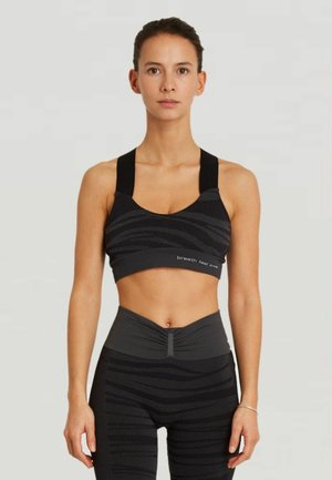LAKSHMI - Sport-bh met medium support - black