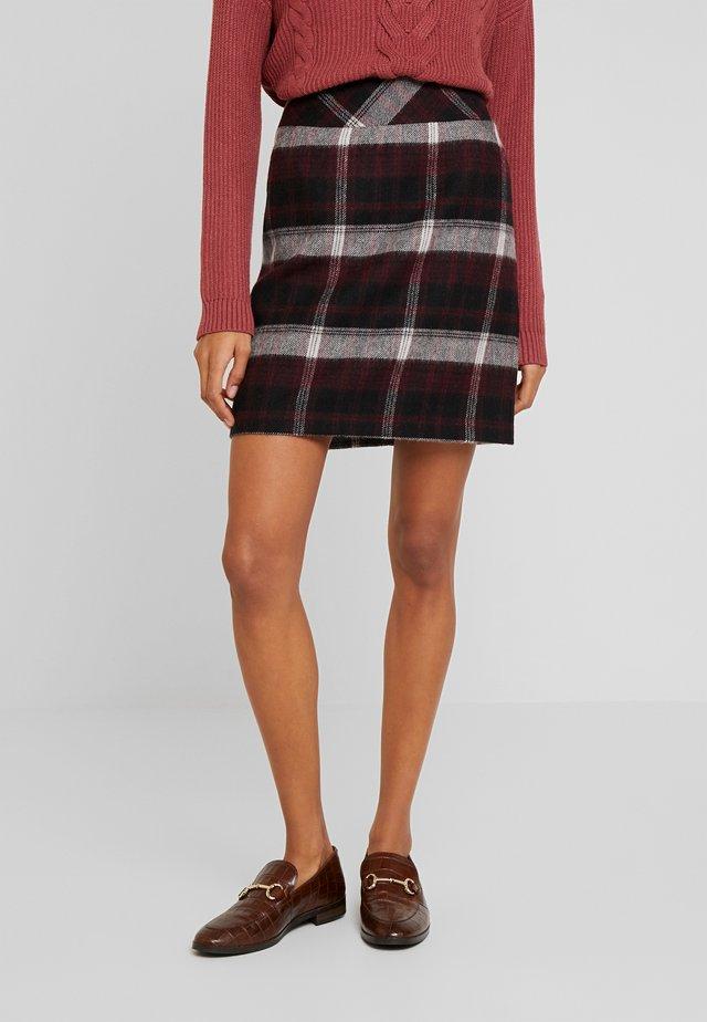 SKIRT SHORT - Mini skirt - black