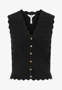 Object - Waistcoat - black - 4