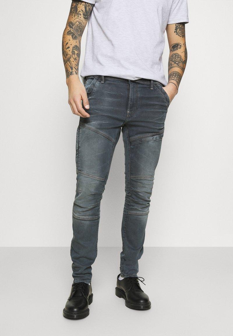 G-Star - RACKAM 3D SKINNY - Skinny džíny - worn in smokey night