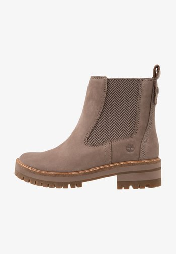 COURMAYEUR VALLEY CHELSEA - Classic ankle boots - taupe grey