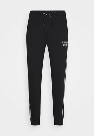 TWO TONE LOGO PANT - Træningsbukser - black