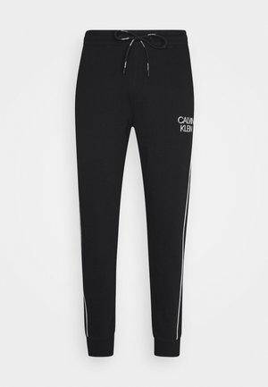 TWO TONE LOGO PANT - Pantaloni sportivi - black