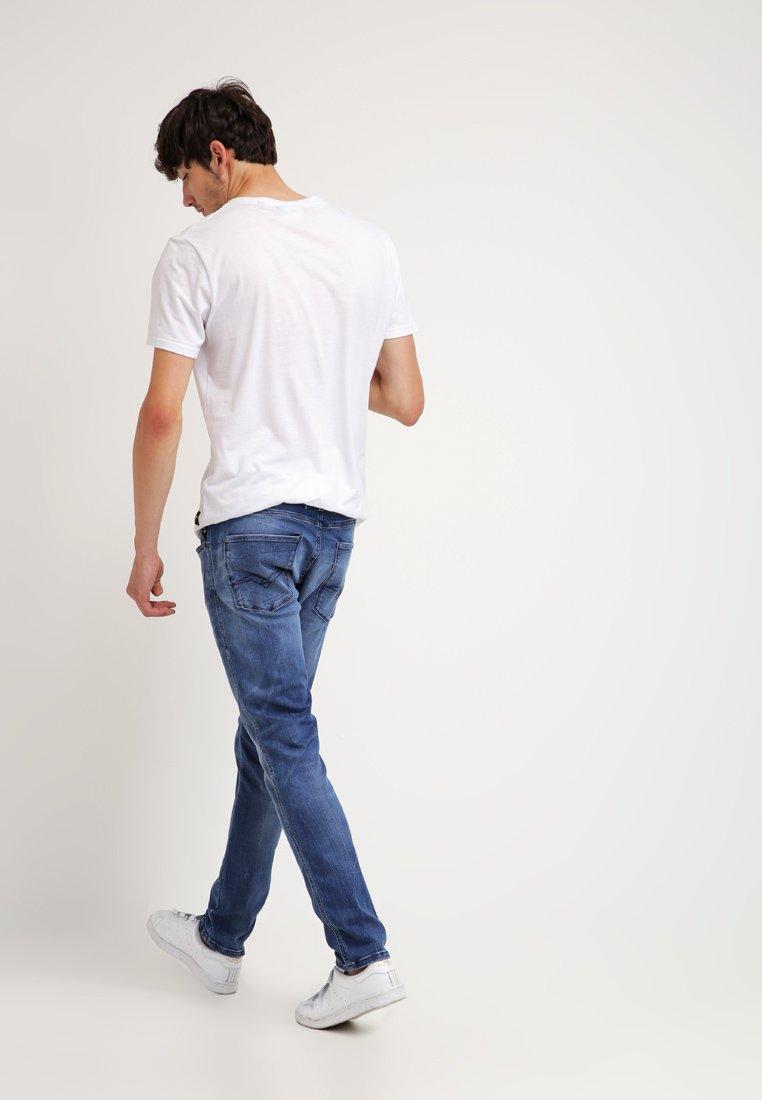 Cheapest Best Supplier Men's Clothing Replay ANBASS Slim fit jeans blue denim zH8AXNqG7 VHfsjVChn