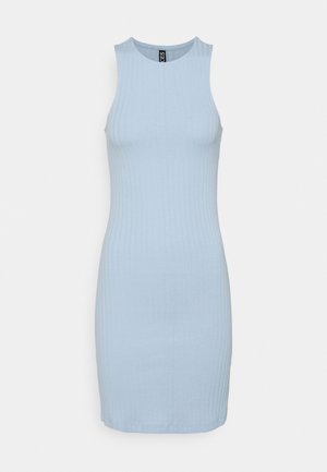PCTIANA DRESS - Vestido de punto - kentucky blue