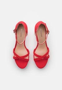 Even&Odd - Sandales à plateforme - red - 5