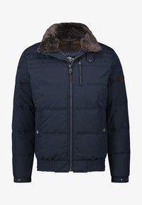 State of Art - Winter jacket - dark-blue plain - 0