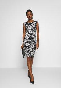 Anna Field - Pouzdrové šaty - black - 1