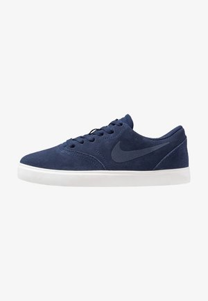 CHECK - Sneakers laag - midnight navy/black/summit white