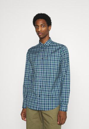TARTAN CHECK - Shirt - sea