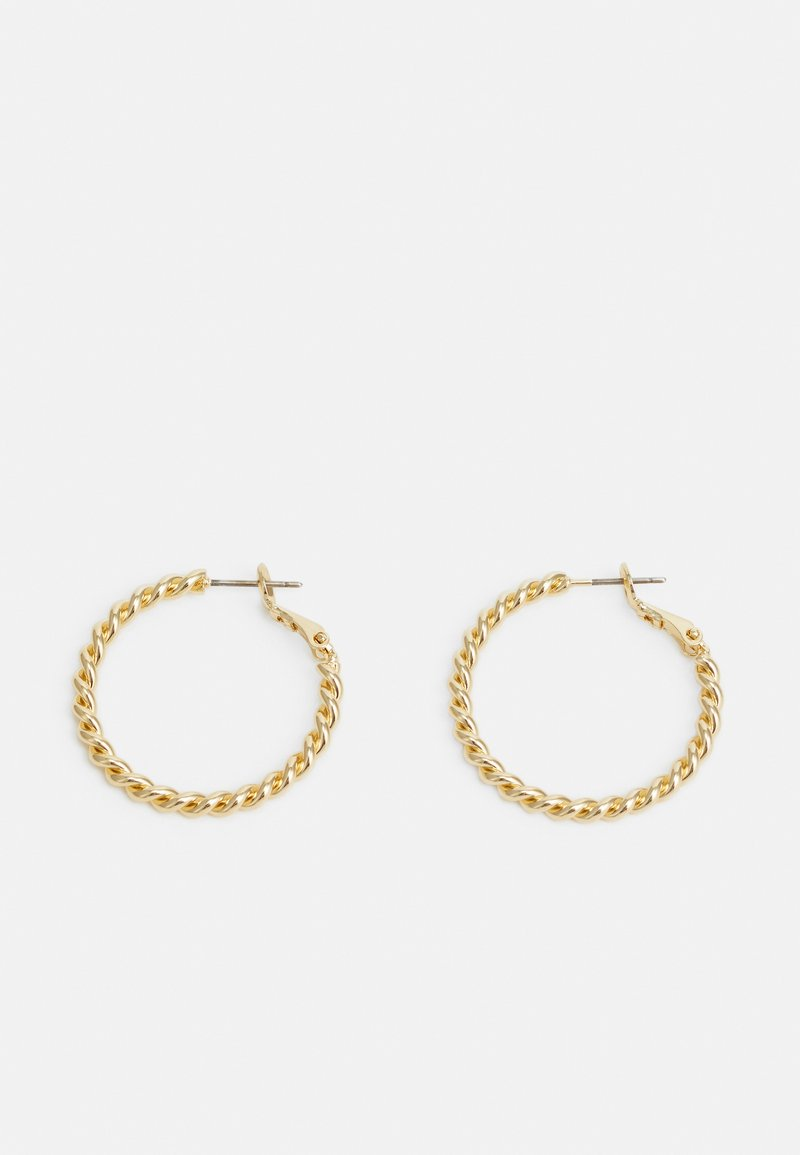 SNÖ of Sweden - WAY EAR PLAIN - Earrings - gold-coloured