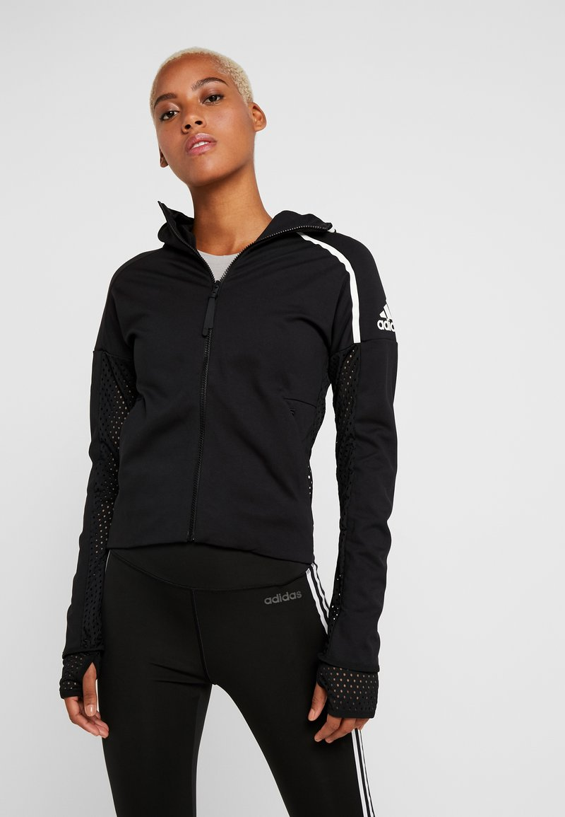 adidas Performance - ZNE - Sportovní bunda - black
