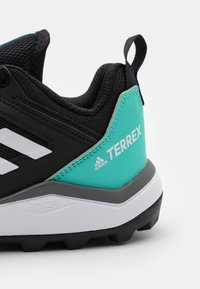 adidas Performance - TERREX AGRAVIC TR - Trainers - core black/crystal white/acid mint - 5