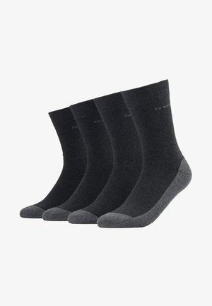 SOFT WALK 4 PACK - Socks - anthracite