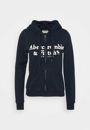 LONG LIFE FULL ZIP - Felpa aperta - navy