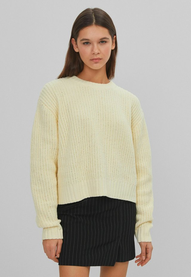 AUS CHENILLE  - Pullover - yellow