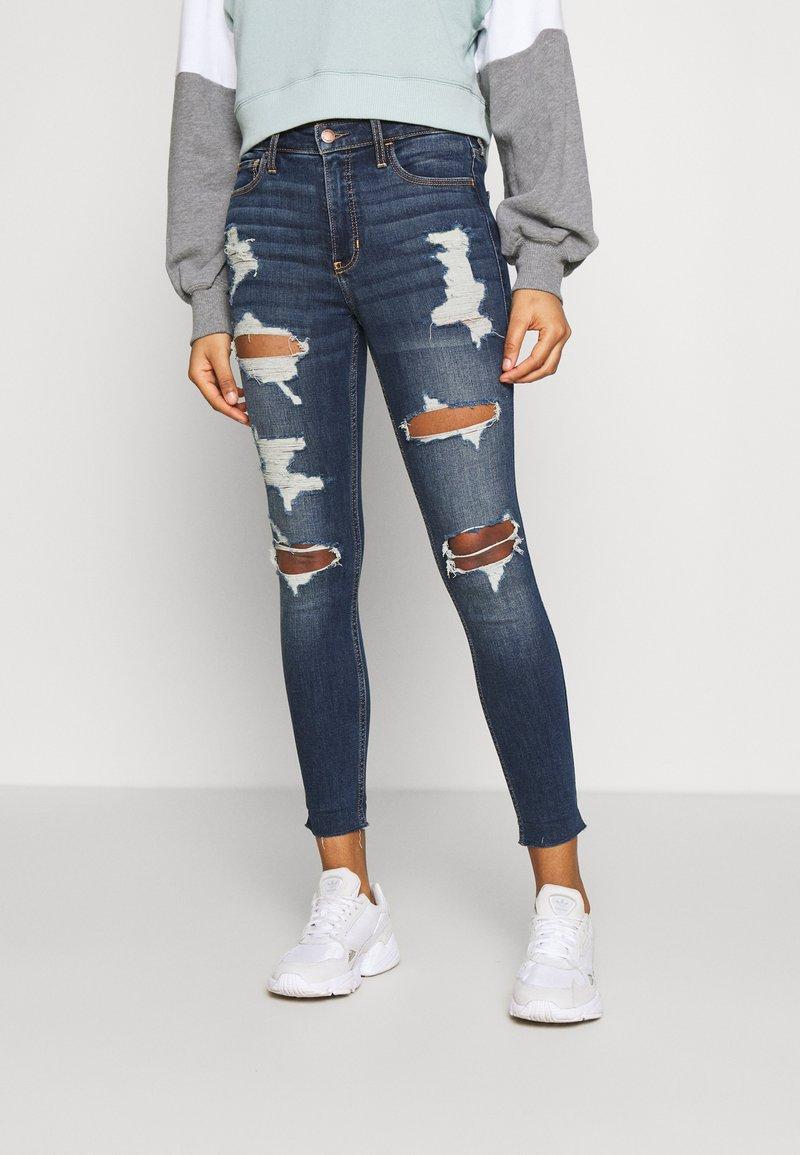Hollister Co. - Jeans Skinny Fit - blue denim