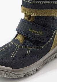 Superfit - MARS - Zimní obuv - blau/grün - 5