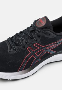 ASICS - GEL CUMULUS 23 - Neutral running shoes - black/electric red - 5