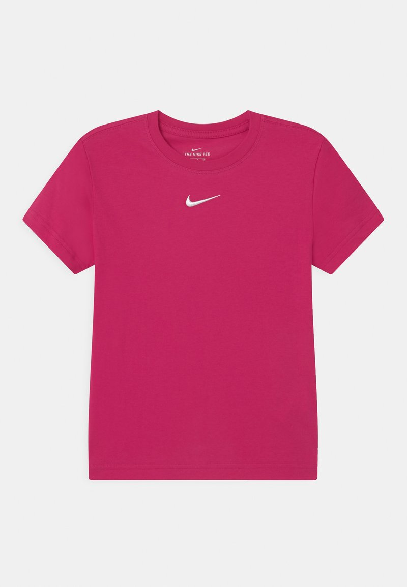 Nike Sportswear - Basic T-shirt - fireberry