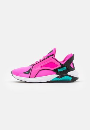 LQDCELL METHOD FM XTREME - Sports shoes - luminous pink/black/viridian green