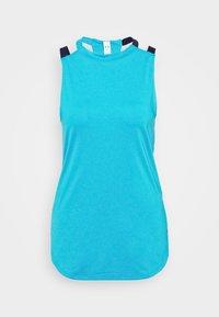 Under Armour - SPORT 2 STRAP TANK - Sports shirt - equator blue - 4