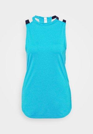 SPORT 2 STRAP TANK - Koszulka sportowa - equator blue