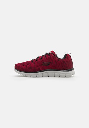 TRACK - Sneakers basse - red/black
