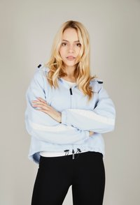 one more story - BASIC  - Zip-up hoodie - arctic ice color - 0