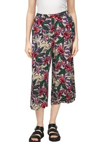 QS by s.Oliver - Trousers - beige floral aop - 5