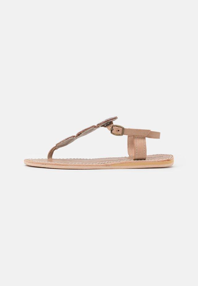 ISKO FLAT - Flip Flops - silky pink