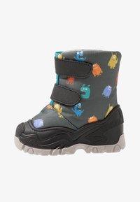 Friboo - Winter boots - black/petrol - 1