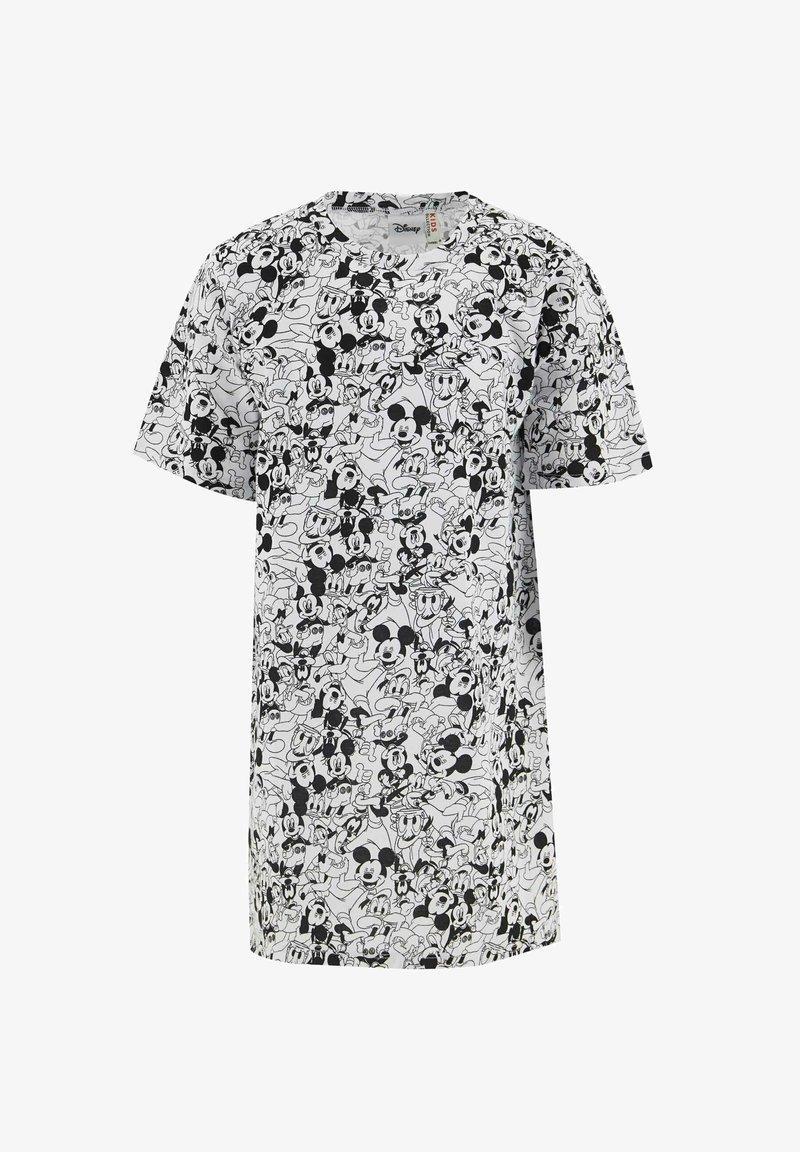 DeFacto - DISNEY MICKEY MOUSE - Jersey dress - white/black