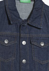Benetton - JACKET - Chaqueta vaquera - blue denim - 4