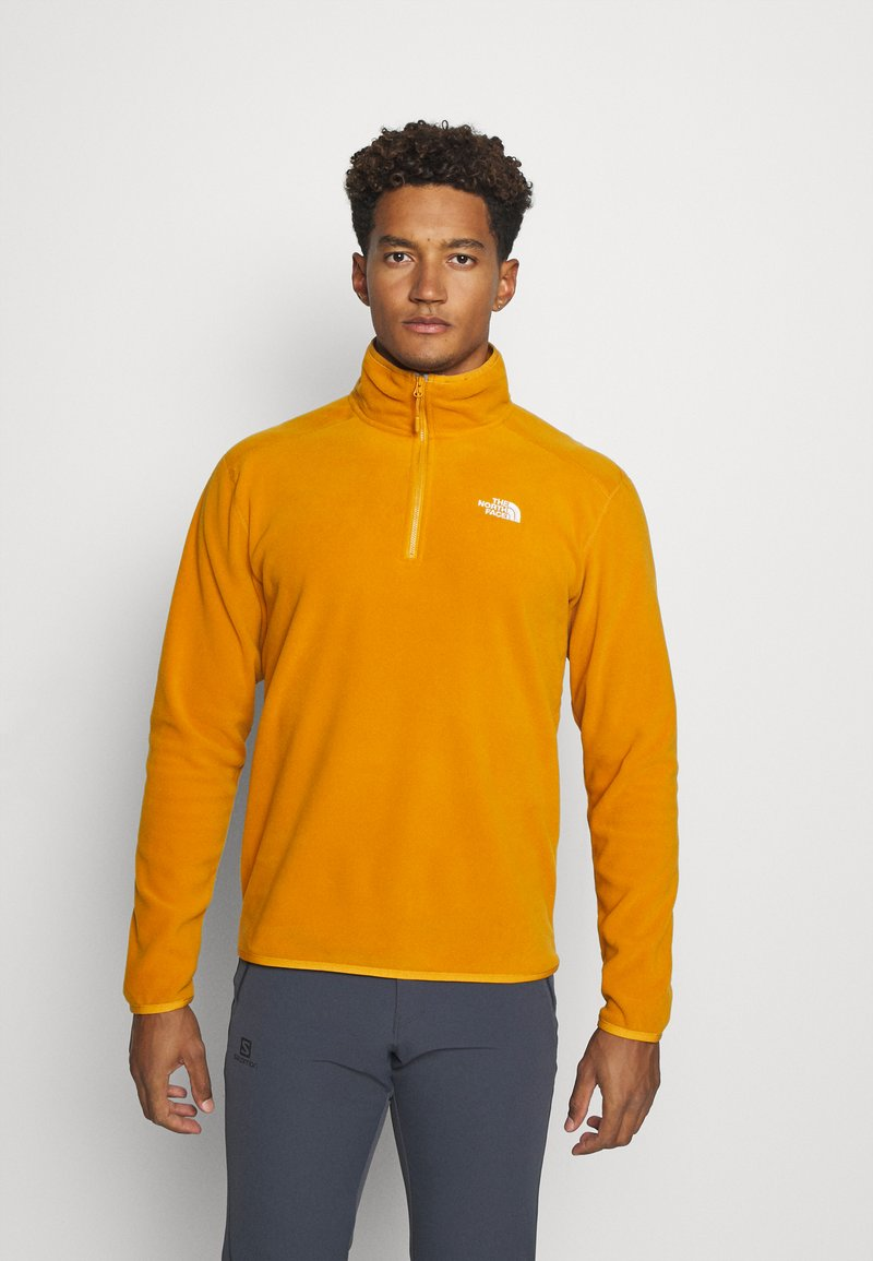 The North Face - GLACIER 1/4 ZIP - Fleece jumper - citrine yellow
