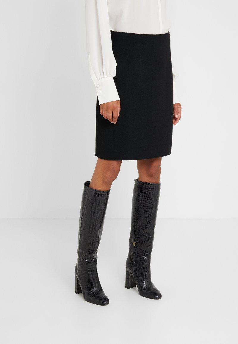 WEEKEND MaxMara - VONGOLA - A-line skirt - schwarz