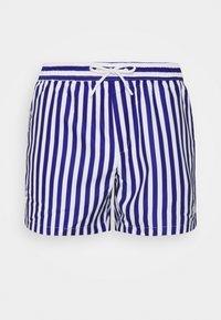 Topman - STRIPE SWIM - Swimming shorts - blue - 2