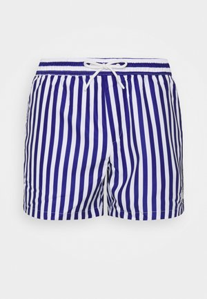STRIPE SWIM - Swimming shorts - blue