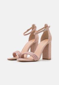 Even&Odd - Korolliset sandaalit - light pink - 2