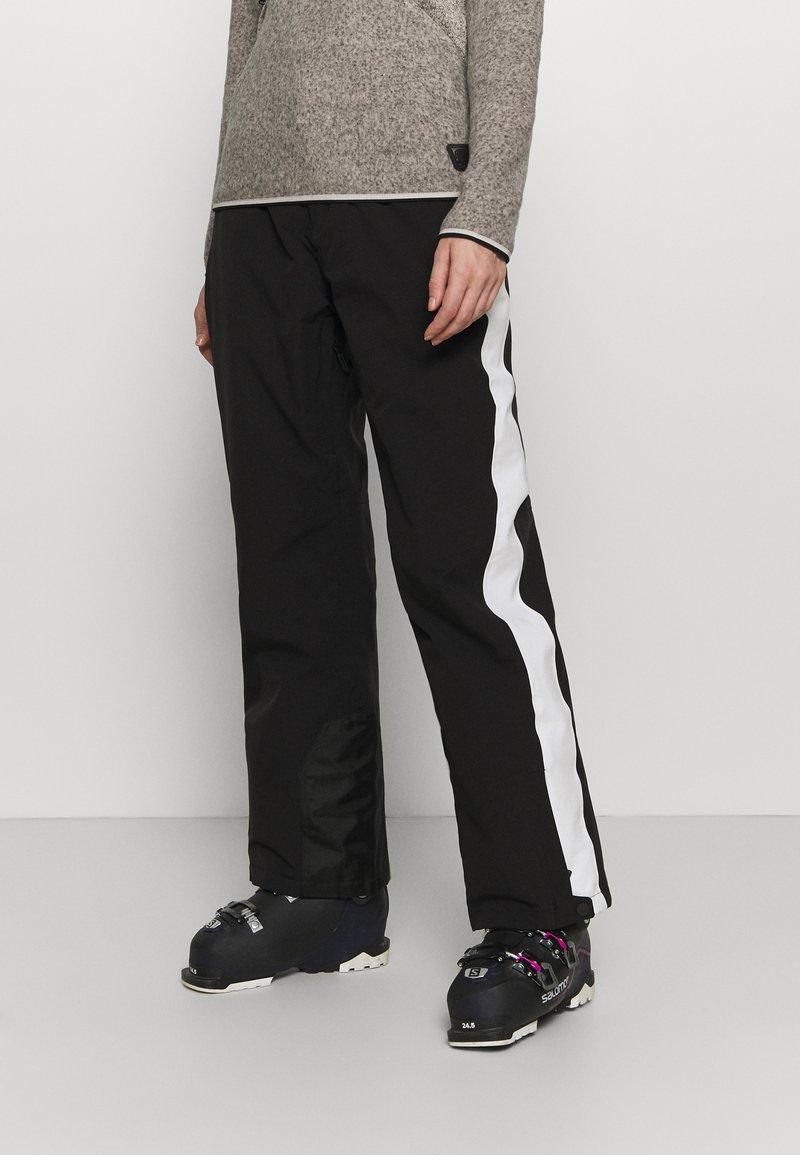 Superdry - ALPINE PANT - Ski- & snowboardbukser - black